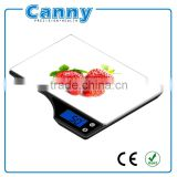 Factory Supply Kitchen Scale CK350, Electronic Kitchen Scale 5kg capacity, 3D picture printing Blue backlight function