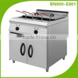Stainless steel industrial eletric deep fat fryer with cabinet /kitchen equipment BN900-E801