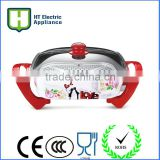 Die casting square Electric Crepe Maker