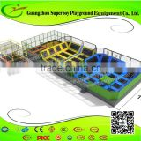 Factory Price Commercial Indoor Trampoline Park For Kids