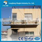 Suspended scaffolding ZLP630 630kg 3*2 meters modular working platform for building facade cleaning