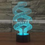 2016 Innovative 3D Illusion Led Decoration Light Table Lamp
