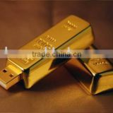 golden bar usb flash drive usb flash disk memory disk pen drive