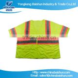 2015new 100% high visibility reflective safety polo shirt
