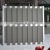 Europe Style WPC Garden Fencing Panels -20 Years Warranty With FSC / CE Certifications