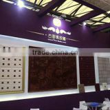GLM Leather wall panel Interior decoration 3d eps steel mesh wall panel New HOT products bring you new profit