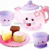 2015 New Product Laugh & Learn Say Please Tea Sets/unbreakable tea set/Children Pretend Tea Set/Kids Toy