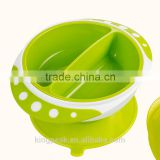 2015 Best Selling Plastic Spill Proof Suction Baby Bowl/Kids Suction Food Bowl /Toddlers Bowl FDA Approved/Kids serving bowls