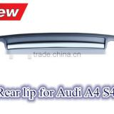 Rear lip for Audi A4 B8 B9 S4