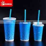 Disposable Cold Soft Drink Paper Cup with Lid                                                                         Quality Choice