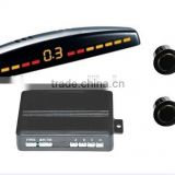 Shenzhen factory supply car back reverse parking system ultrasonic sensor with digital display