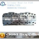 Brand New cylinder head for FIAT TEMPRA/TIPO 98809738/7704453 with high quality and most competitive price.