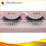 2013 hot strip lashes wholesale good quality stock cheap synthetic fiber false eyelash extensions 518ABCDEF