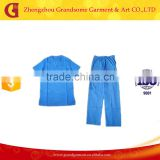 sanitary garments shirt and pant from Chinese factory