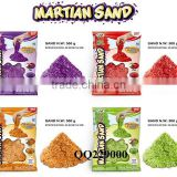 500G/1000G Kids DIY magic gliter sand toys sand alive for kids art&craft,Smart gliter sand