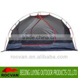 Oversized Room Urltra-light Aluminum 9.5mm Pole Waterproof Wind Resistance Double Layer 3 Season 2 Person Camping Tent