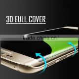 mobile phone accessories screen protector for SAMSUNG S6 edge ,anti-broken tempered glass protective film