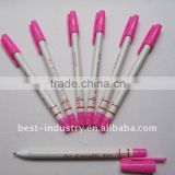 Ball pen nib auto vanishing ink pen for garment, footwear, embroidery, leather marking