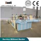 Corrugated Carton box folder and gluer machine/Corrugated carton box folding and gluing machine