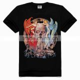 OEM 3d Printing Factory High quality old skull t-shirt, korean fashion t-shirt, high fashion trendy t-shirts