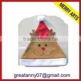 Alibaba express 2014 new x'mas decoration red and brown Christmas reindeer hat ideas high quality sale
