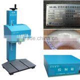 2014 Hot Sale China Low Price High quality Symbol Date Code Desktop Cnc Pneumatic Marking Machine for Metal Nameplate