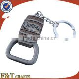 oem manufacturer provide custom shape bottle opener with key rings