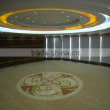 Custom hand knotted carpet with SGS fireproof certificate hotel guest room carpet