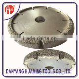 laser brazed flat rescue cutting disc blade for well cutting-wall cut blade for fire rescue