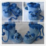 hand knitted animal crochcet winter shoes boot 2013 pattern minions acrylic beanie