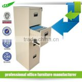 Made In China luoyang Home Office Furniture vertical filing cabinet 4 Drawer fireproof filing cabinet With Lock/drawer cabinet w