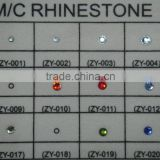 bling hot fix MC rhinestones iron on garment accessories