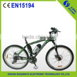 Manufacturer direct selling 26 inch carbon fiber mountain bike with battery A8-FB26