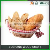 Natural Wicker Basket Beautiful Rattan Basket for Gift                                                                         Quality Choice