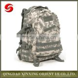 Outdoor Molle Military Tactical 600D warterproof backpack, camouflage Camping Hiking Trekking Bag