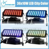 Dmx 512 Outdoor Waterproof City Colorful Building/Hotel Led Wall Washer light,IP65 Led Wash Equipment