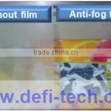 Anti fog shower mirror pet film with hotel mirror