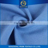 Factory direct soft anti static compression fabric supplier blue knitted fitness wear stretch tencel cotton fabric
