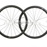 High Quality Carbon Bike U Shape Tubular Wheelset 38T Carbon Road Bike Wheel Tubular Wheelset