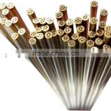 1.7mm x 400mm Multi Hole EDM Brss Electrode Tube & EDM Brass Pipe