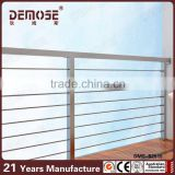 outdoor balcony stainless steel cable deck railing system                                                                         Quality Choice