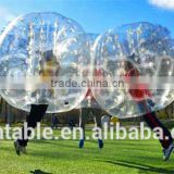 2016 high quality CE Dia 1.2m/1.5m/1.7m body human inflatable knock ball bubble football bumper ball