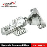 Hydraulic buffering Soft Close hinge for trailers