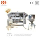 Stainless Steel Sunflower Cookies Machine/Ice Cream Waffle Cone Maker Machine                                                                         Quality Choice