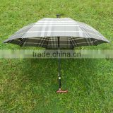 high quality crutch car parasol