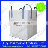 plastic woven big bag ton bag for packing rice /cement /building material