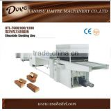 Professional small chocolate enrobing coating machine
