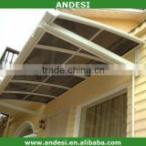 polycarbonate awning for window