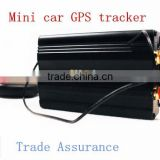 mini tk103b Overspeed alarm with remote control locator Vehicle car tracking device gps tracker
