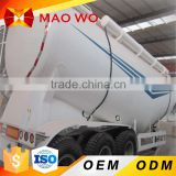 best selling tri-axle cement bulker truck powder tank semi trailer